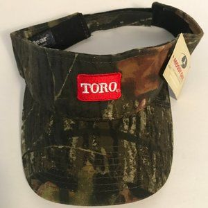 Toro Camo Adjustable Visor New Mossy Oaks